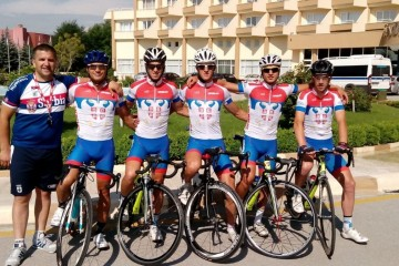 REPREZENTACIJE SRBIJE NA STARTU 1. ETAPE NA INTERNATIONAL TOUR OF ANKARA JUNE 10 2015