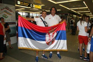 Ivan Stević i selektor Radomir Pavlović danas putuju na OI