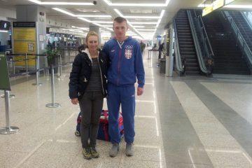 Jana Jolović i Veljko Stojnić u Iglu