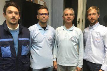 Kvartet sudija iz Srbije na seminaru u Mađarskoj
