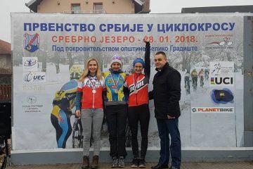 Veliki odziv na prvenstvu Srbije u ciklokrosu u Velikom Gradištu