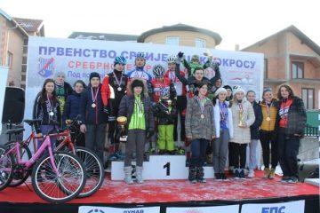 Prvenstvo Srbije u ciklo krosu na Srebrnom jezeru u nedelju 28. januara