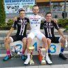Три Душана на постољу,  најбољи Рајовић, следе  Калаба и Веселиновић